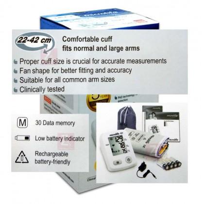 Microlife Blood Pressure Monitor BP A2(5 years guarantee Free Adapter)