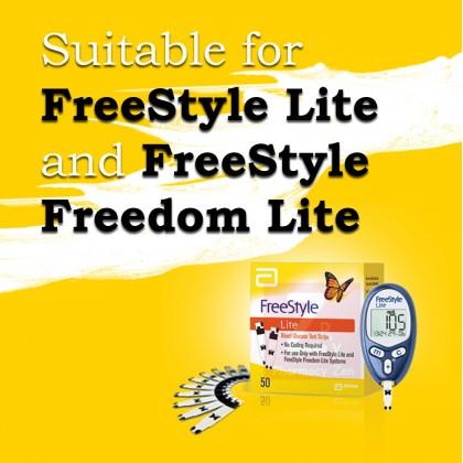 Abbott Freestyle Lite Test Strips (50s)