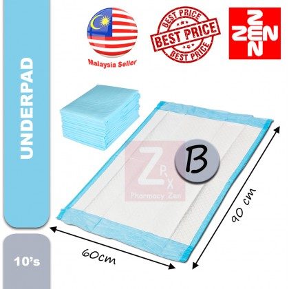 Disposable Underpad  5 Ply Hospital Quality 10pcs/pack